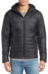 Ibex Men's 'Wool Aire' Quilted Hooded Jacket