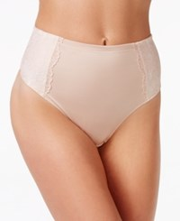 Maidenform Sexy Firm Control Lace Thong Dm2001 Only At Macy's Champagne Shimmer Ivory