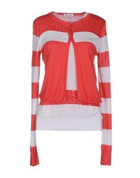 Who S Who Knitwear Twin Sets Women Coral