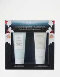 Korres Almond Blossom Moisturising Mini Collection Mini Collection Clear
