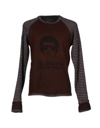 Joe Rivetto Sweaters Dark Brown