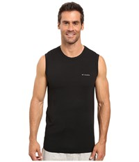 Columbia Performance Mesh Muscle T Shirt Black Men's Sleeveless