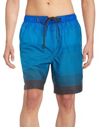 Calvin Klein Signature Ombre Swim Trunks Fearless Blue