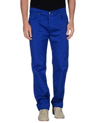 Fay Trousers Casual Trousers Men Bright Blue