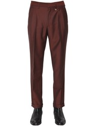 Lords And Fools 18.5Cm Wool Mohair Blend Pants
