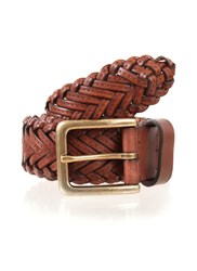 Dents Leather Belt Tan