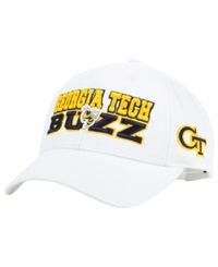 Top Of The World Georgia Tech Yellow Jackets Adjustable Cap White