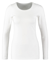 Opus Smilla Long Sleeved Top White Off White