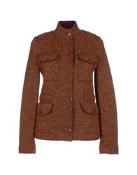 Roy Rogers Roy Roger's Coats And Jackets Jackets Women Brown