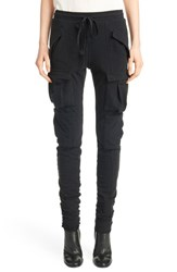Women's Haider Ackermann Cotton And Stretch Wool Jogger Pants