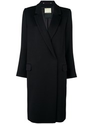 By Malene Birger Double Breasted Coat Black