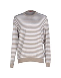 Altea Knitwear Jumpers Men Sand