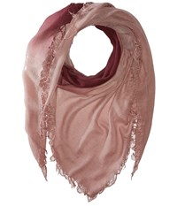Chan Luu Shadow Dye Cashmere Scarf Fig Deauville Mauve Scarves Pink