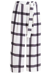 Finders Keepers Sacrilege Trousers Light Check White
