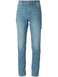 Isabel Marant 'Dasty' Skinny Jeans Blue