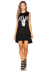 Lauren Moshi Deanna Sleeveless Dress Black