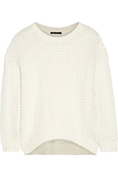 Vince Honeycomb Knit Cotton Sweater