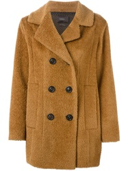 Odeeh Oversized Peacoat Brown