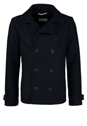Pier One Short Coat Navy Dark Blue