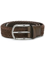 Tod's Classic Belt Brown