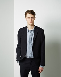 Band Of Outsiders Narrow Suit Blazer Navy