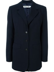 Aalto Tailored Blazer Jacket Blue