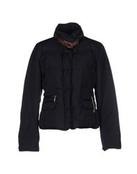 Henry Cotton's Coats And Jackets Down Jackets Women Dark Blue