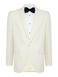 New And Lingwood Tattershall Dinner Jacket White