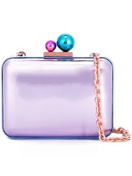 Sophia Webster 'Vivi' Shoulder Bag Pink And Purple