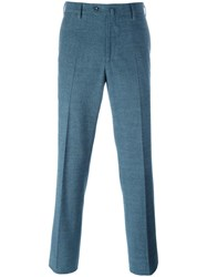 Loro Piana Pleated Tapered Trousers Green