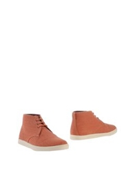 Clae Ankle Boots Rust