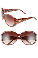 Vince Camuto 64Mm Oval Sunglasses Tortoise