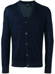 Theory Classic Cardigan Blue