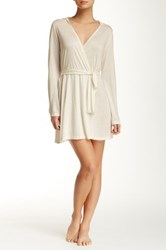 Only Hearts Club Venice Hooded Robe White