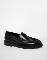 Royal Republiq Penny Loafers Black