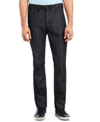 Kenneth Cole Reaction Dark Wash Two Tone Slim Fit Jeans