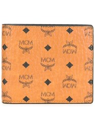 Mcm Small 'Claus' Bifold Wallet Brown