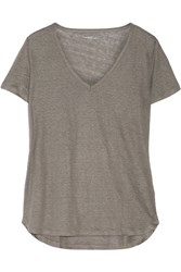 Majestic Linen Top Gray