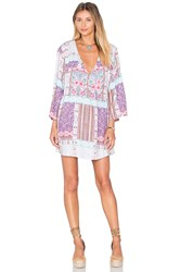 Somedays Lovin Skylight Cape Dress Purple