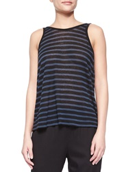 T By Alexander Wang Striped Scoop Back Tank