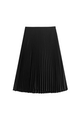 Michael Kors Collection Pleated Skirt Black