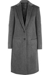 Joseph Mart Wool And Cashmere Blend Coat Gray