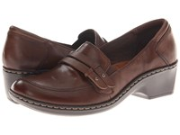Cobb Hill Deidre Bark Women's Wedge Shoes Brown