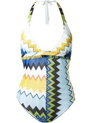 Missoni Backless One Piece White