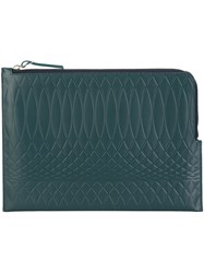 Paul Smith Document Pouch Green