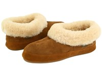 Acorn Oh Ewe Ii Walnut Brown Sheepskin Women's Slippers