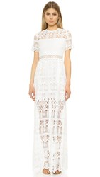 Alexis Phillipa Maxi Dress White