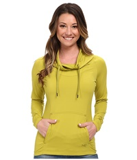 Arc'teryx Varana L S Shirt Opuntia Women's Long Sleeve Pullover Yellow