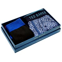 Ted Baker Geo Boxer Briefs Socks Gift Box Multi