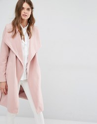Jdy J.D.Y Wrap Coat Woodrose Pink